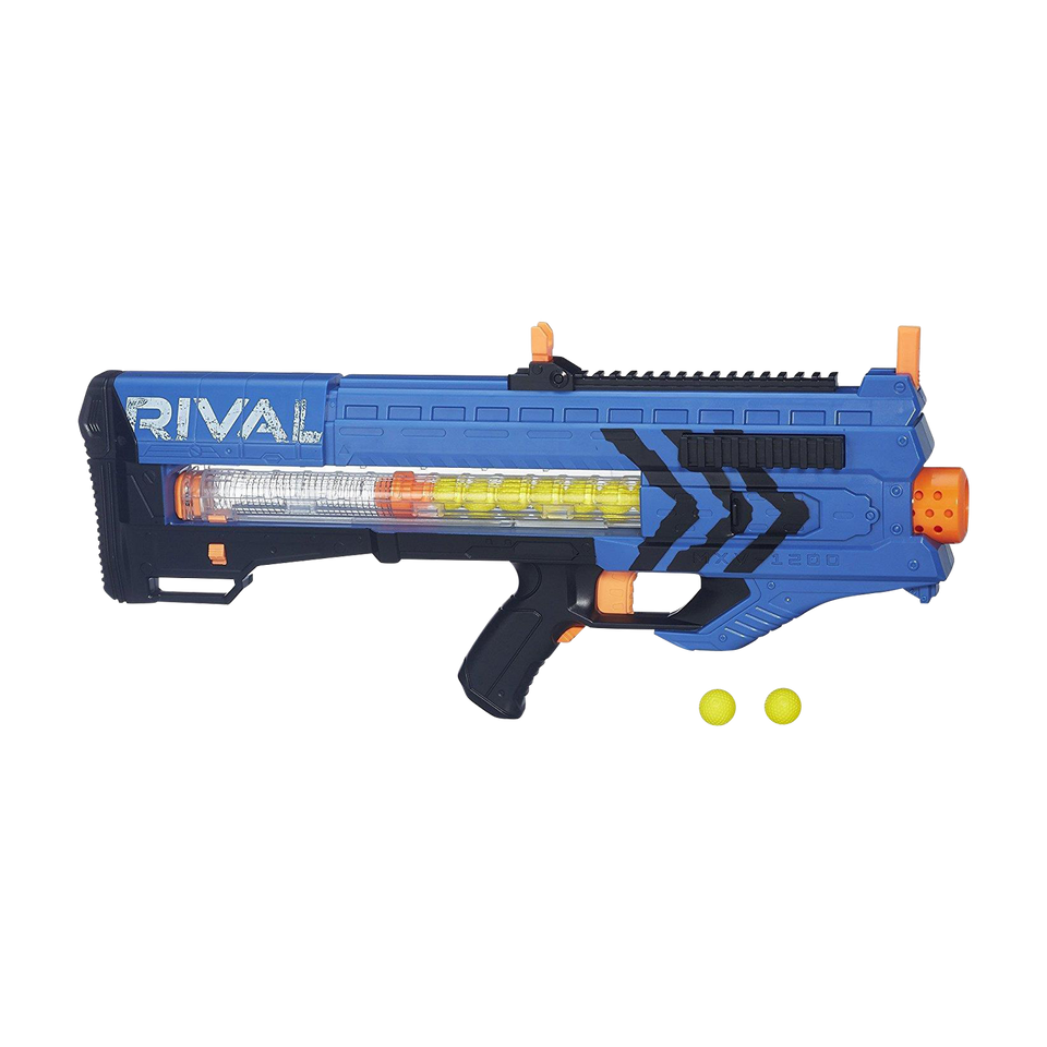 Nerf Rival Zeus MXV-1200 Blaster Team Blue Motorized 12-Rounds Hasbro