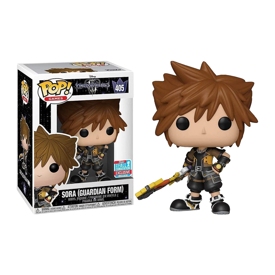 Kingdom Hearts 3 Sora Guardian Vinyl Exclusive