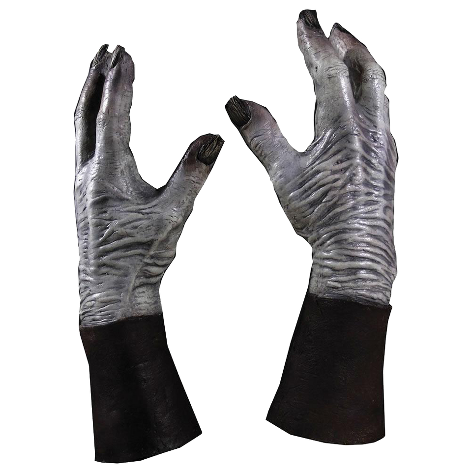 Game of Thrones White Walker Hands GOT HBO Officially Licensed Gloves Zombie Trick Or Treat Studios