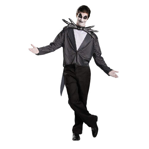 Nightmare Before Christmas Jack Skellington Mens size M 38-40 Licensed Costume Disguise