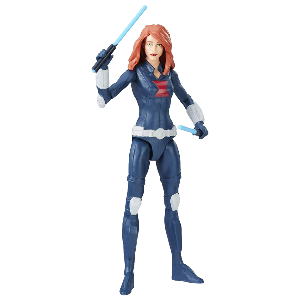 "Hasbro Marvel Avengers: Black Widow Figure Classic 6"" Action Toy"