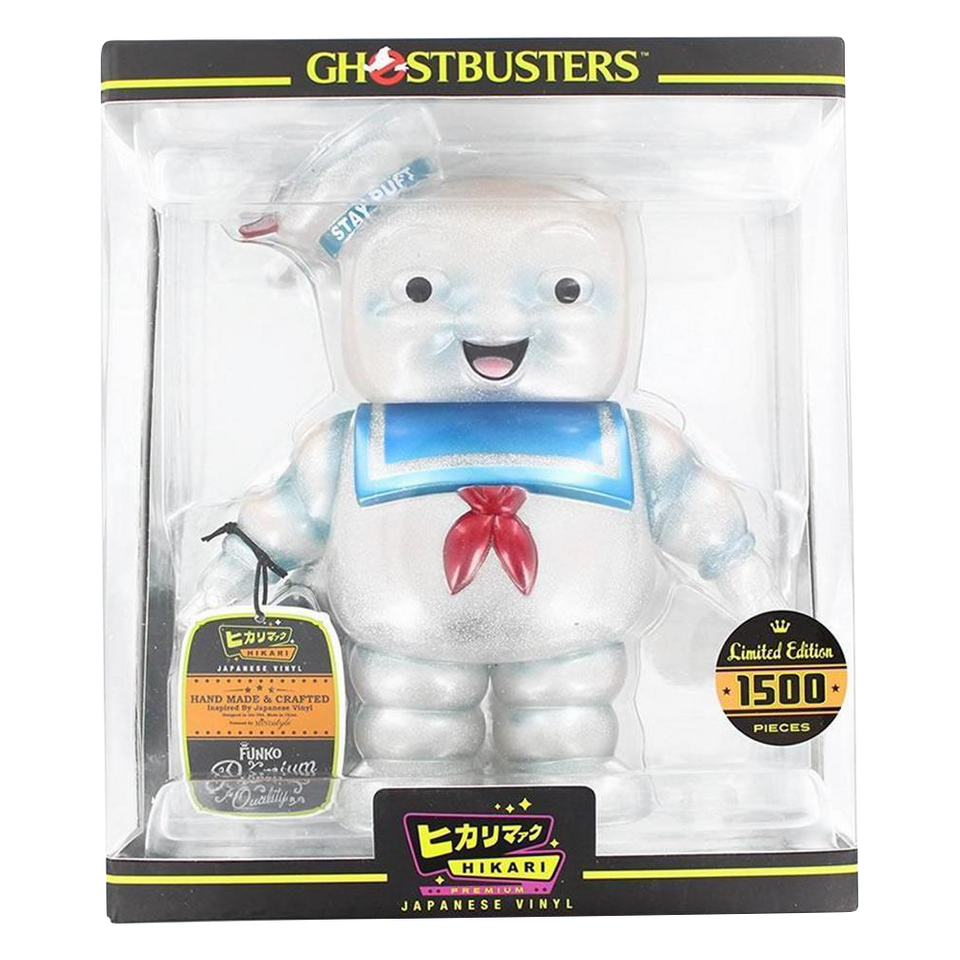 Hikari Ghostbusters Stay Puft Marshmallow Man Vinyl Figure Limited Edition
