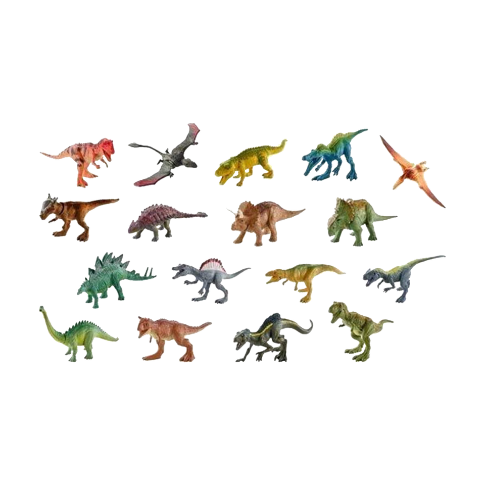 Jurassic World Matchbox Mini Dinosaur Figure 2-Inch Mystery Pack
