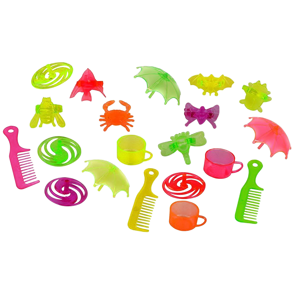 Easter Eggs with Surprise Toy 24-Pack Colorful Kids Party Favor Baskets Game Kangaroo 10275