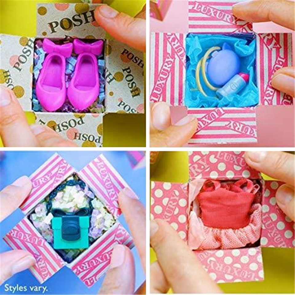 Boxy Girls Fashion Pack Mystery Surprise Accessories Jay at Play