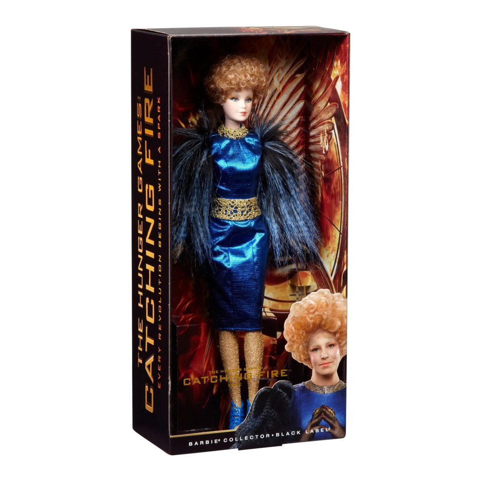 Barbie The Hunger Games Catching Fire Effie Trinket Doll Collector