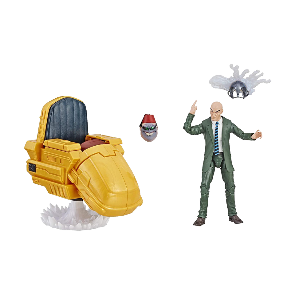 Marvel Professor X & Hover Chair X-Men Mutant Legends Series Figure Hasbro
