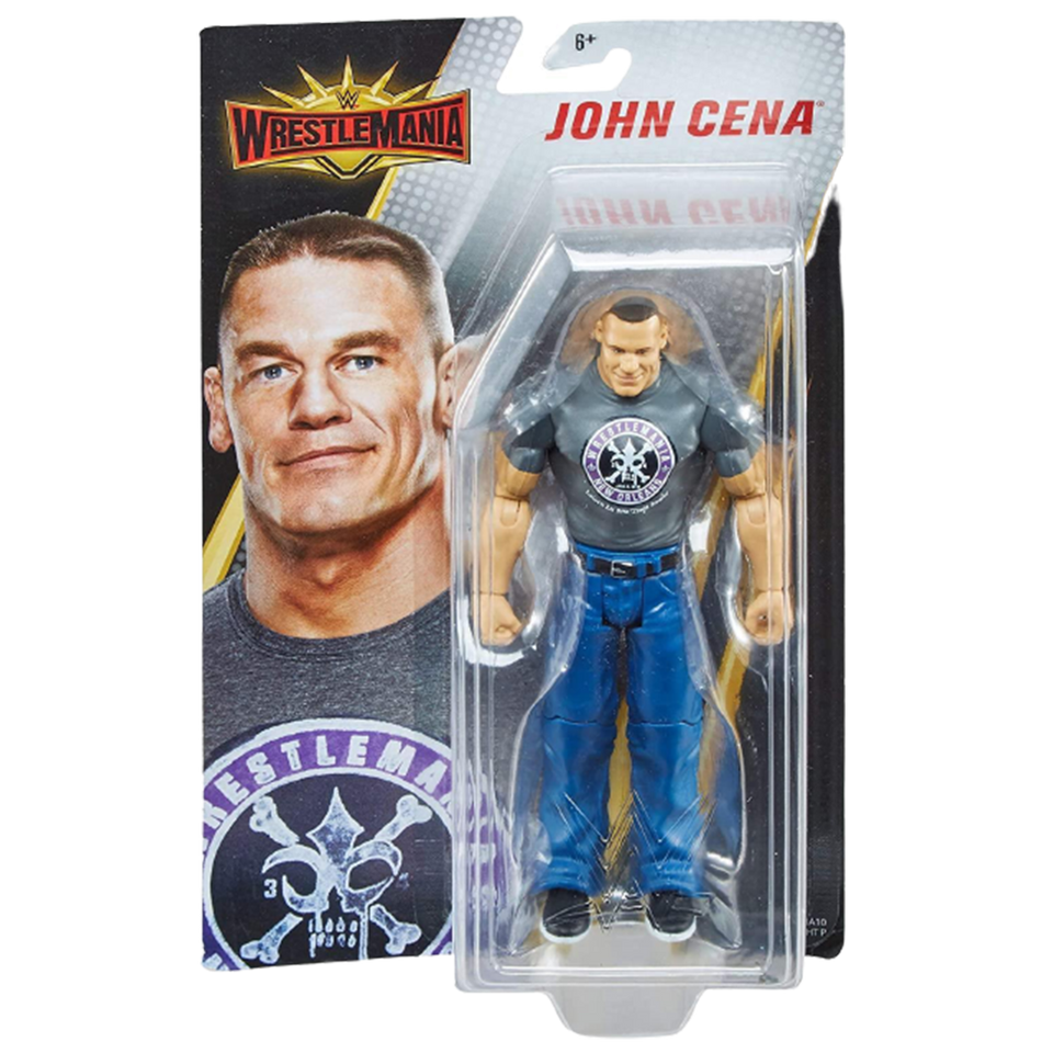 WWE WrestleMania John Cena Wrestling Action Figure Detailed Articulated