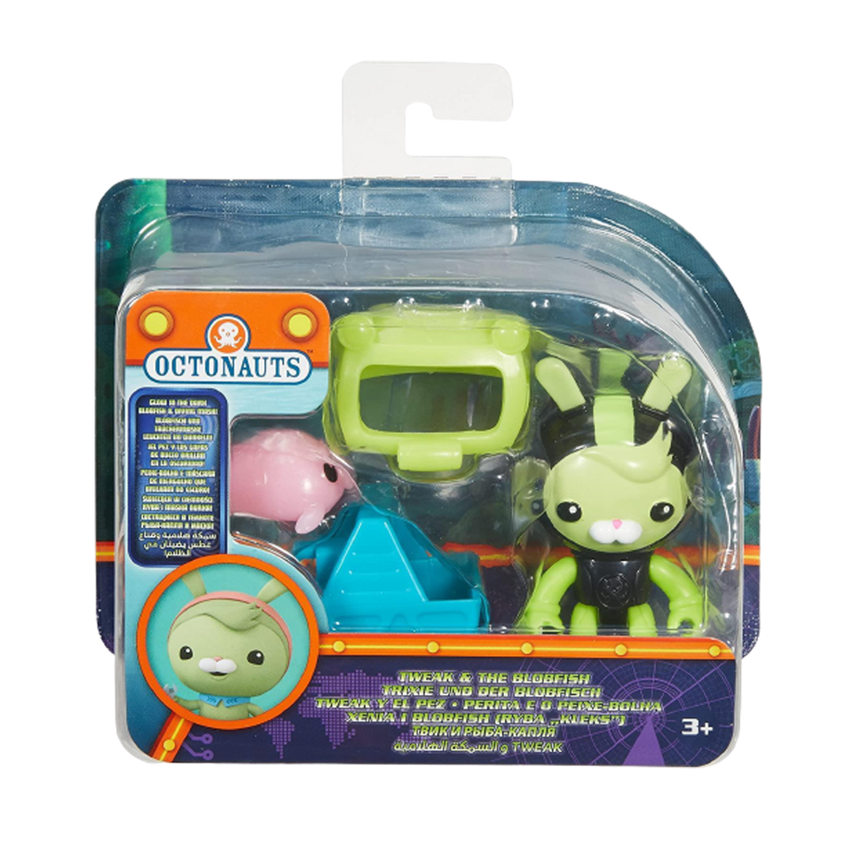 Octonauts Tweak & The Blobfish Glow-in-the-Dark Set