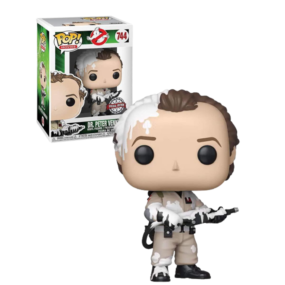 POP! Ghostbusters Dr. Peter Venkman Movies Special Edition Fluff Figure