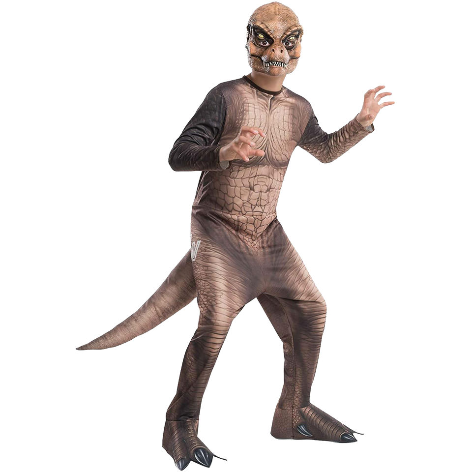 Jurassic World Dinosaur T-Rex Boys Costume Licensed - Large (12-14)
