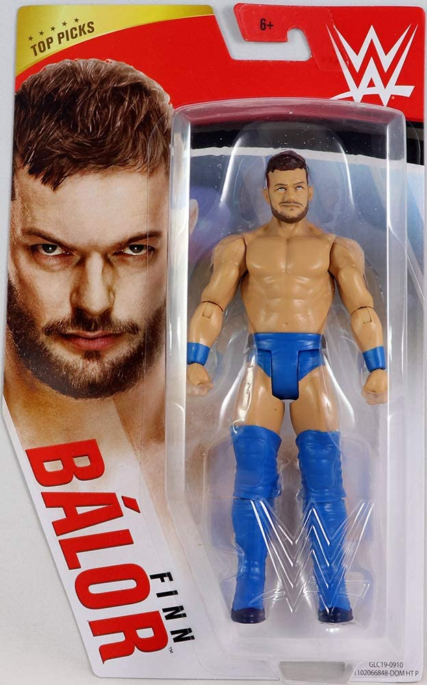 WWE Finn Balor Top Picks Wrestling Action Figure Articulated Detailed