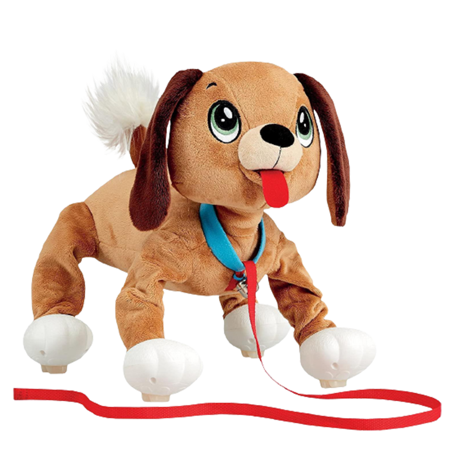 Peppy Pets Mutt Dog Walks Runs Interactive Plush Kids