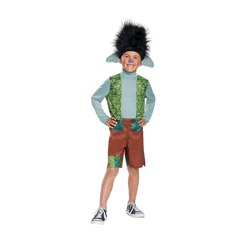 Dreamworks Trolls Classic Branch Boys Licensed Costume - Large (10-12)