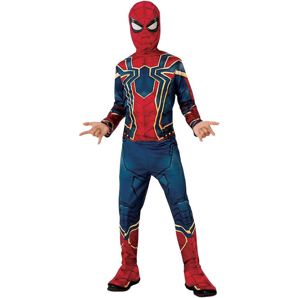 Marvel Avengers Infinity War Iron Spider Man Boys Licensed Costume - Small (4-6)