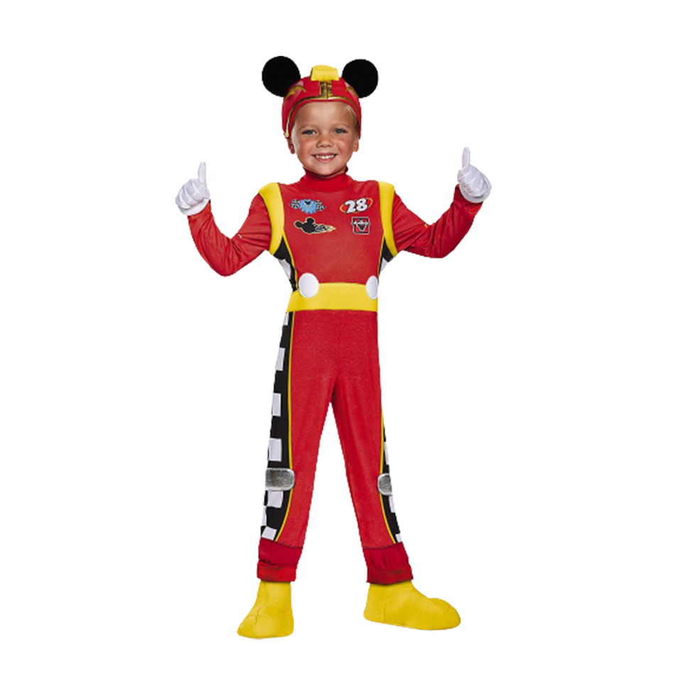 Mickey Mouse Roadster Racer Deluxe Toddler Boys Costume - Small 2T