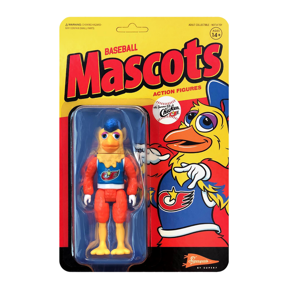 MLB San Diego Chicken Mascot Action Figure
