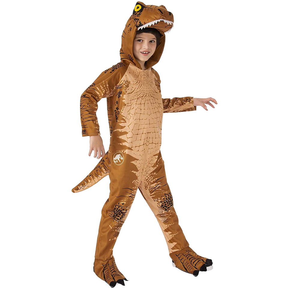 Jurassic World Fallen Kingdom Dinosaur T-Rex Boys Costume Licensed - Small (4/6)