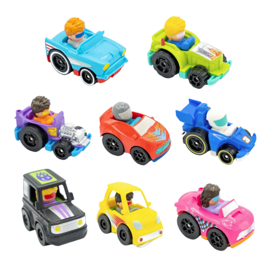 Little People Cars Blind Bundle 6-Pack Wheelies Vehicles