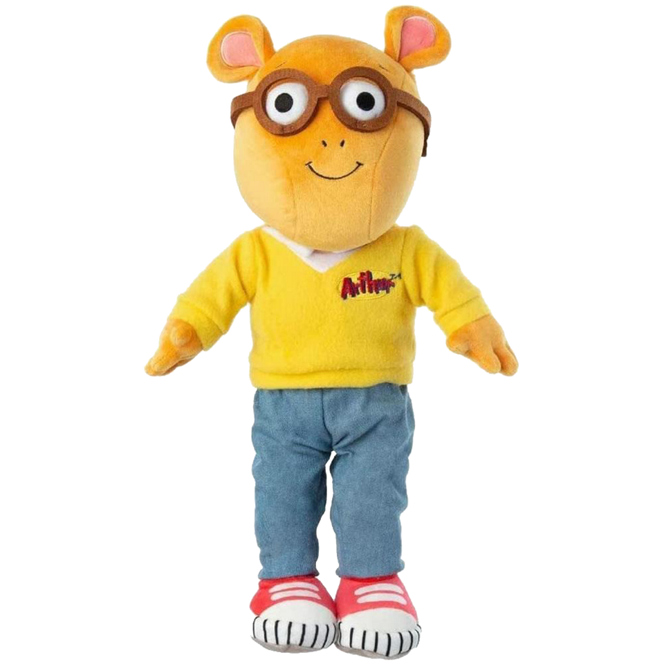 Arthur the Aardvark Daytime Plush Doll Stuffed Kids Toy PBS TV Show Character