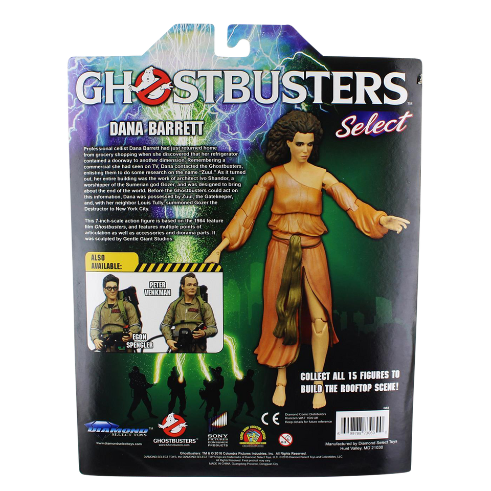 Ghostbusters: Dana Barrett Action Figure with Accessories
