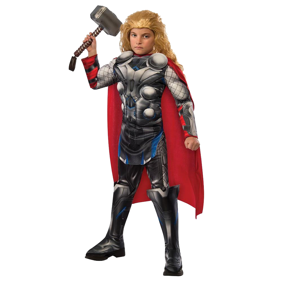 Marvel Avengers 2 Age of Ultron Thor Licensed Costume Deluxe Rubies -Medium (8/10)