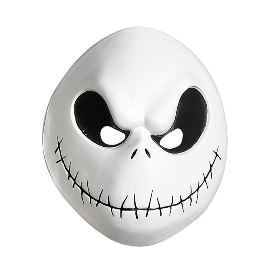 Nightmare Before Christmas Jack Skellington Adult Mask Costume Accessory