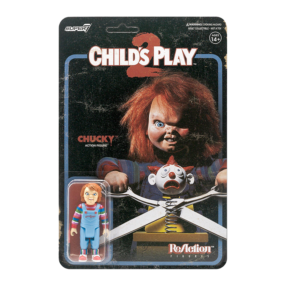 Child's Play Evil Chucky ReAction Figure - Articulated (Retro)