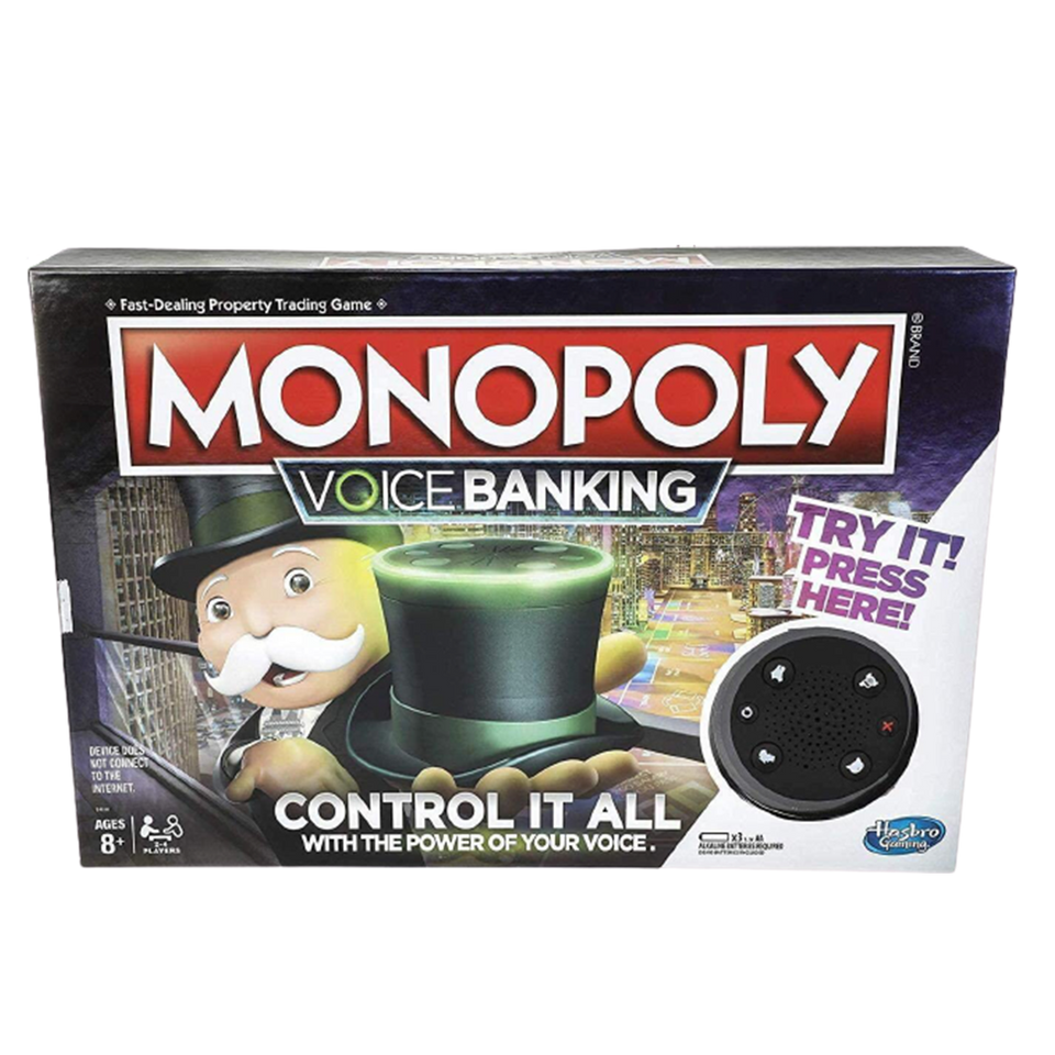 Monopoly Voice Banking Electronic Family Friendly Fun Board Game