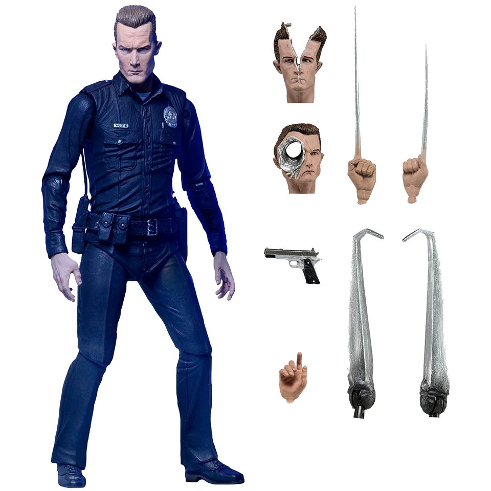 Ultimate T-1000 Terminator Action Figure Judgement Day Skynet Machine
