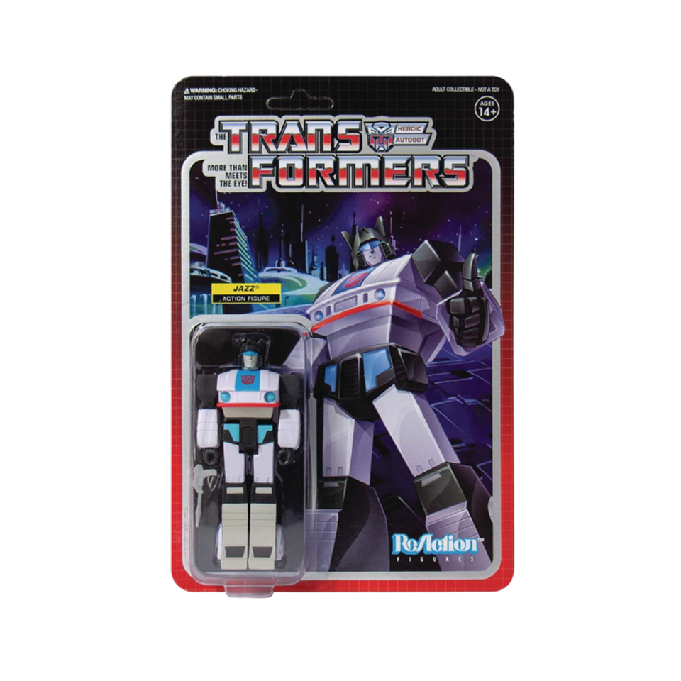Transformers Jazz Reaction Figure - Articulated (Retro)