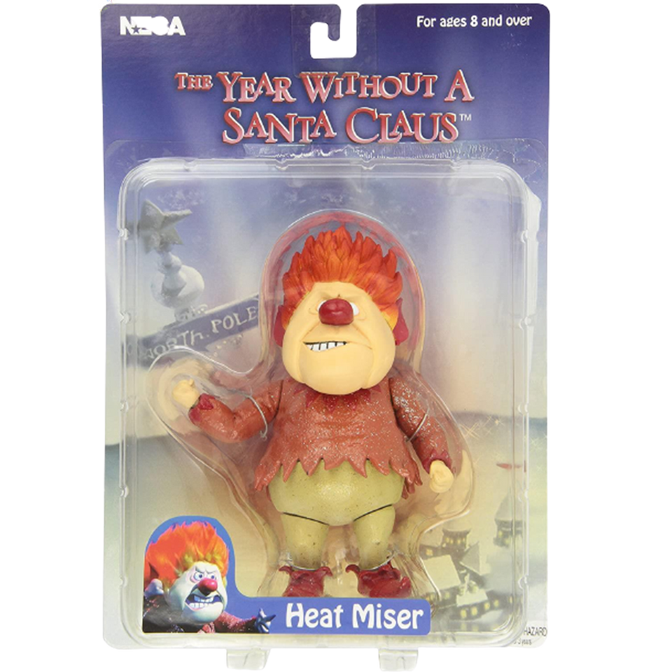 The Year Without a Santa Claus Heat Miser Action Figure Collectable