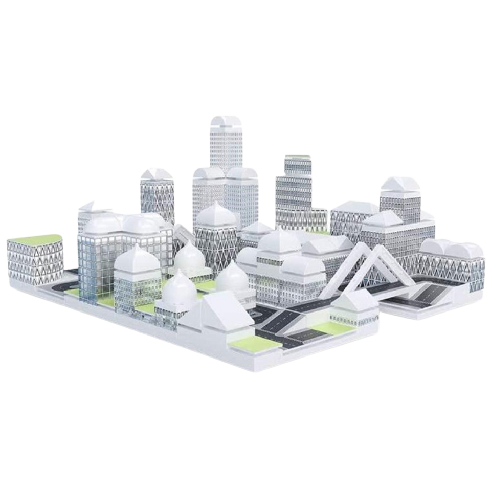 Masterplan City Model Design Tool Build Architecture Building Kit