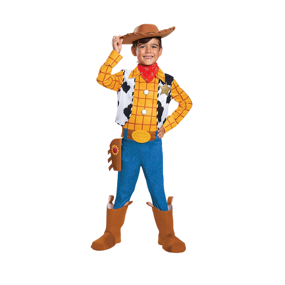 Toy Story 4 Woody Deluxe Boys Licensed Costume - Medium (7/8)