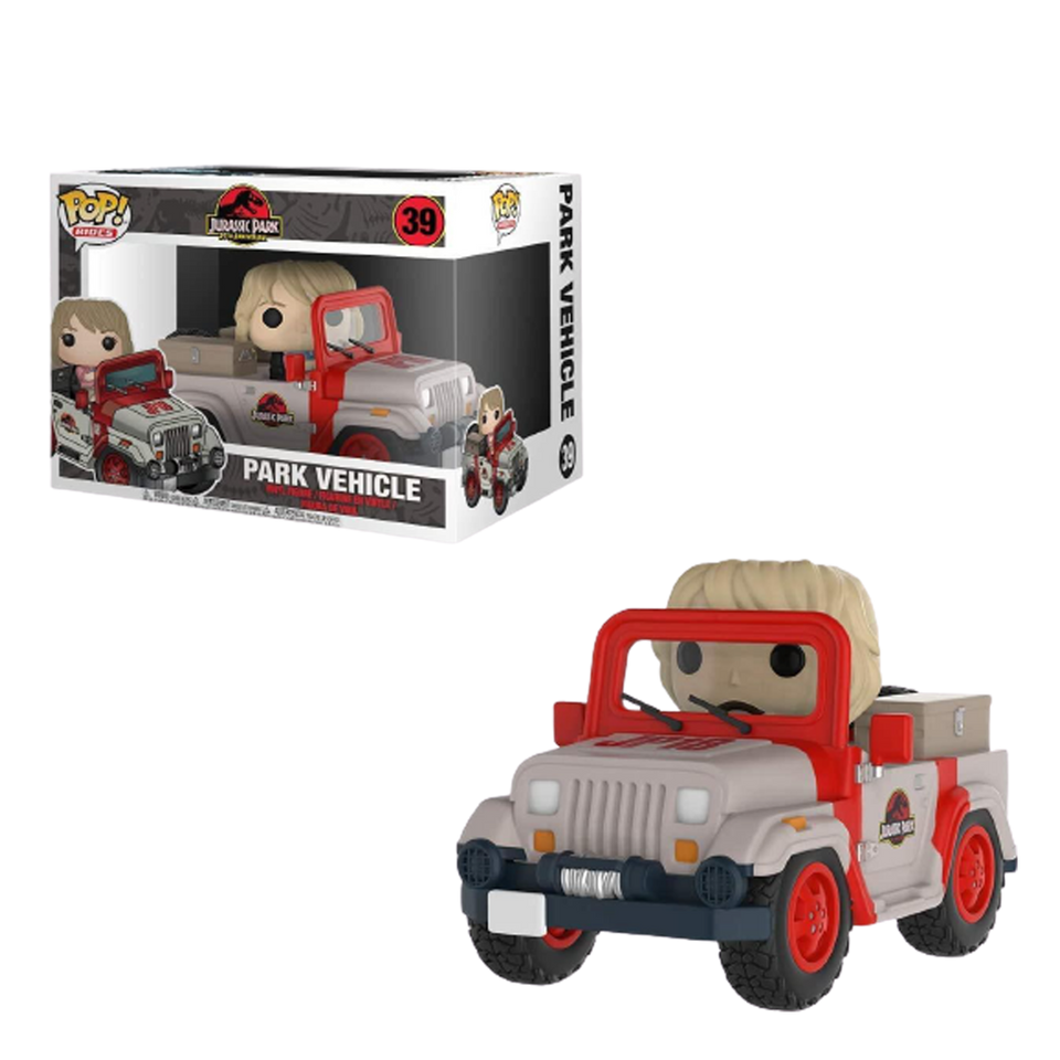 Rides Jurassic Park Vehicle Jeep Vinyl Collectable Figure