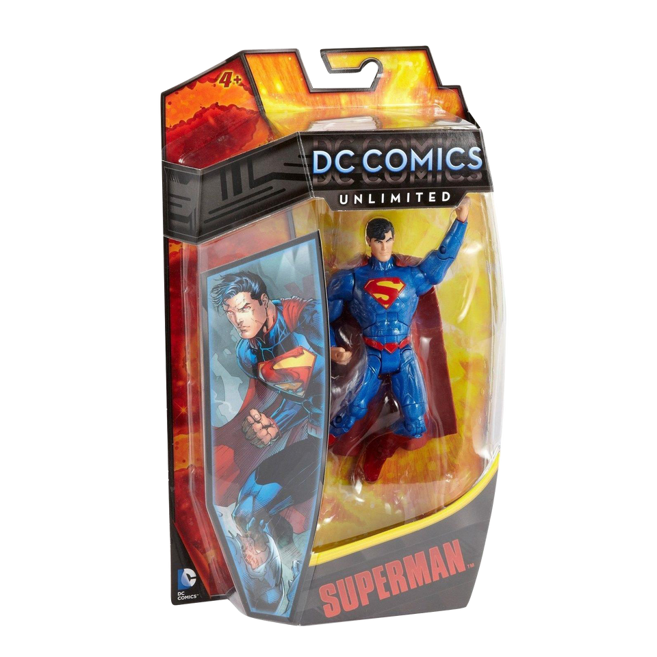 DC Comics Unlimited Superman Action Figure Collector Toy Justice Hero