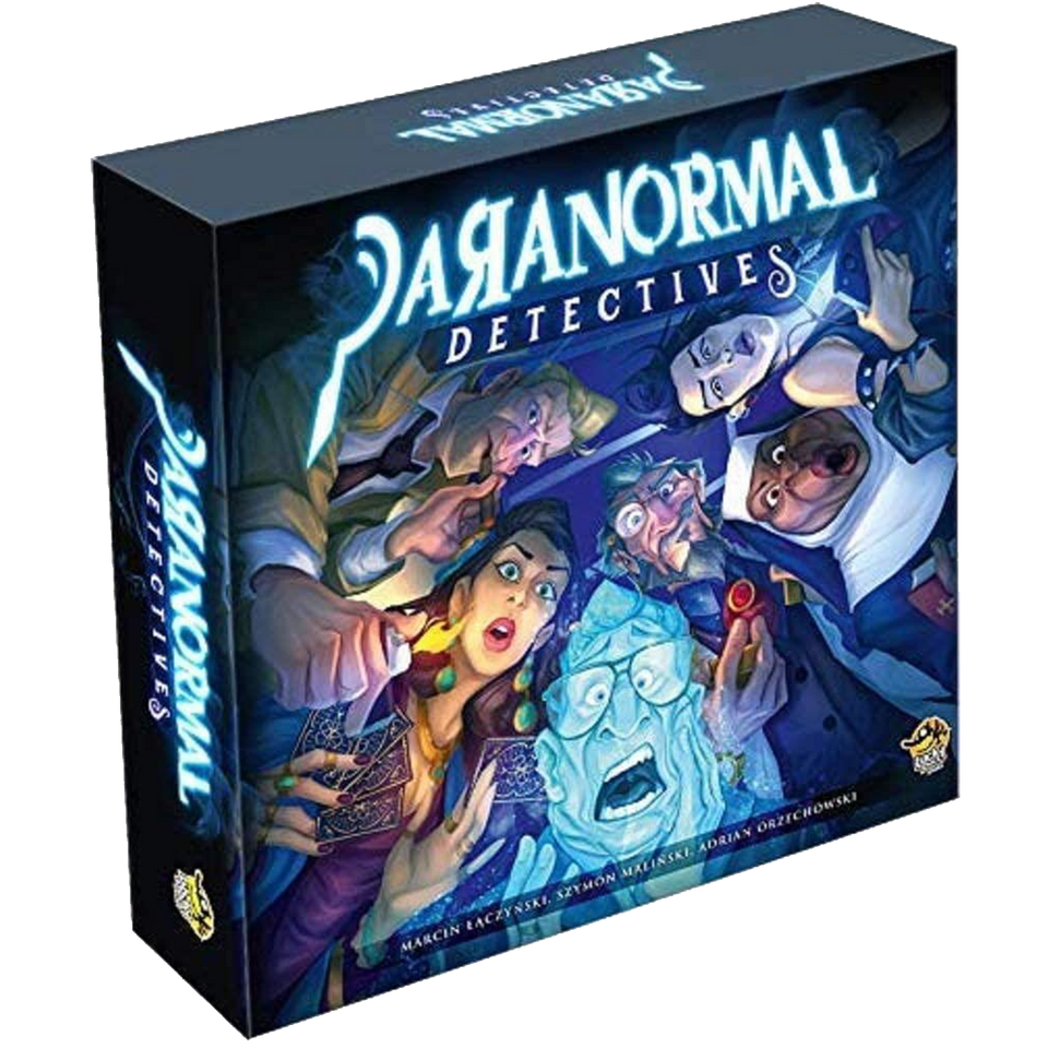 Paranormal Detectives Deduction Interactive Party Game