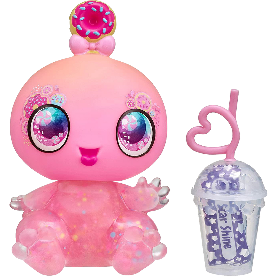 Goo Goo Galaxy Astra Nommy Doll Alien Baby Donut Squeezer Belly DIY Slime Slime