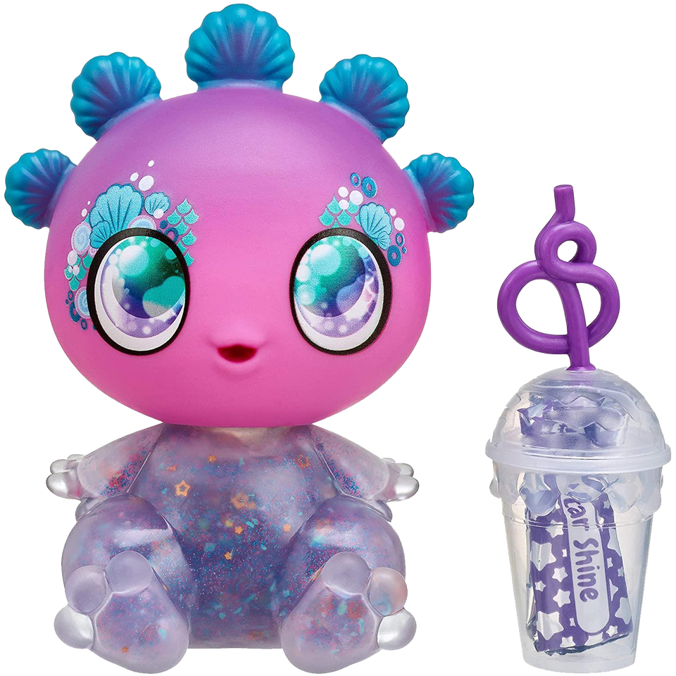 Goo Goo Galaxy Luna Laguna Doll Alien Baby Mermaid Squeezer Belly DIY Slime Slime