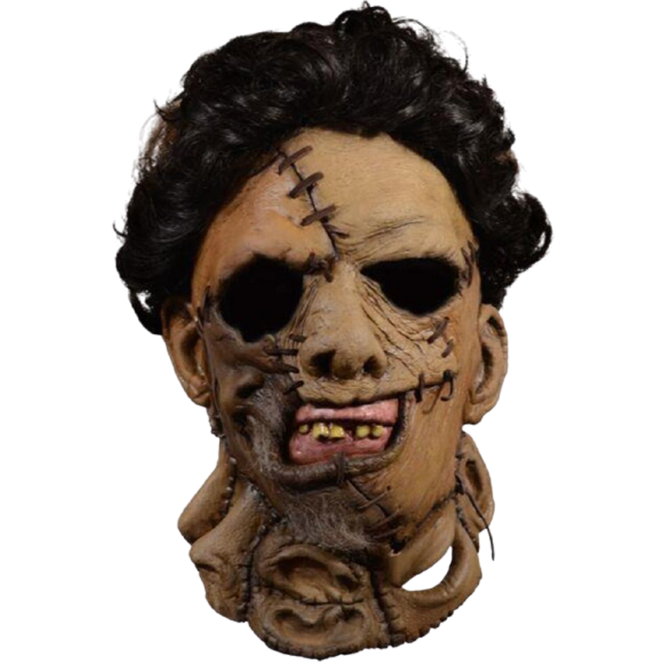 The Texas Chainsaw Massacre 2 Adult Leatherface Mask Deluxe - O/S