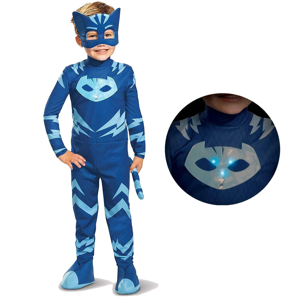 PJ Masks Catboy Deluxe Boys Light Up Costume - X-Large (7/8)