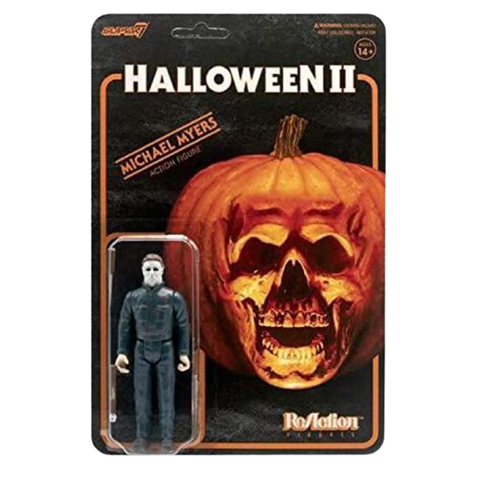 Halloween II Michael Myers Reaction Figure Scary - Articulated (Retro)