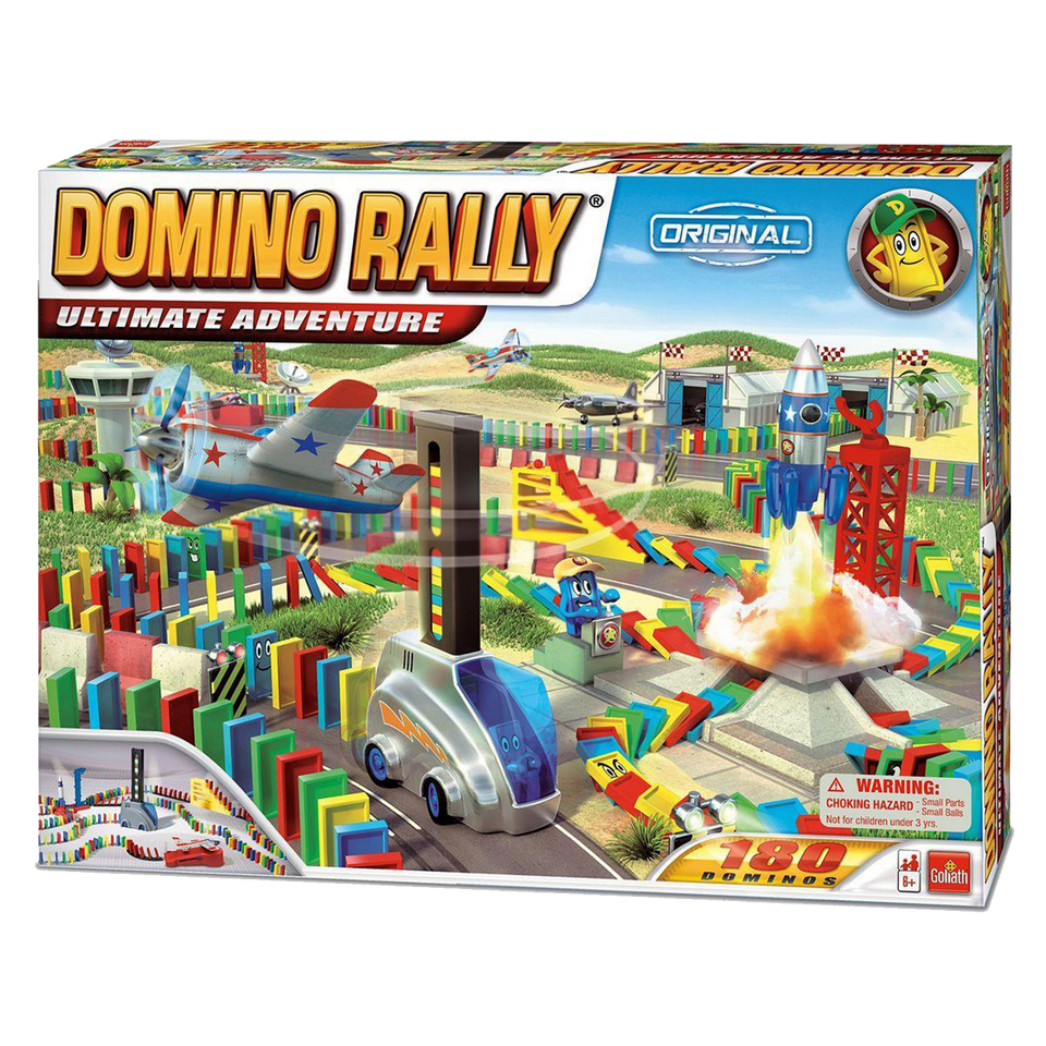 Domino Rally Ultimate Adventure Champion Race Interactive