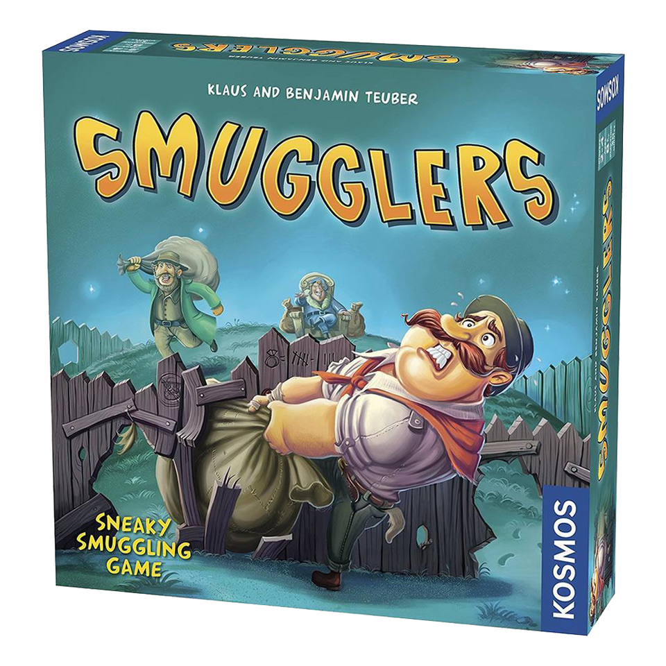 Smugglers Family Board Game Fence Contraband Strategy Multi-Player Fun Thames & Kosmos 692544