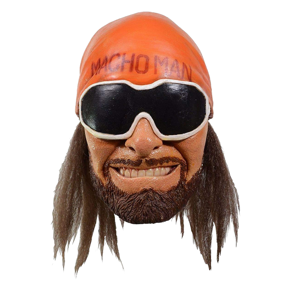 Trick or Treat Studios WWE Macho Man Randy Savage Adult Mask Officially Licensed