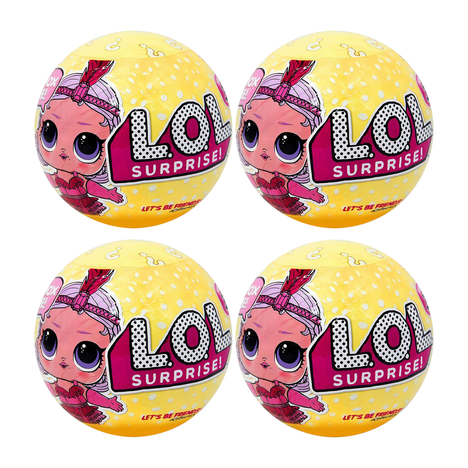 L.O.L. Surprise! Series 3 Wave 1 Big Sister LOL Doll Exclusive Limited 4 Pack