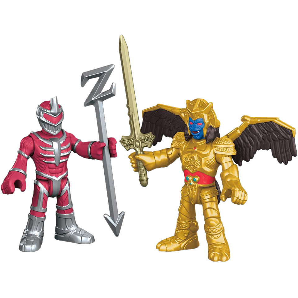 Imaginext: Godar & Lord Zedd Figures Mighty Morphin Power Rangers