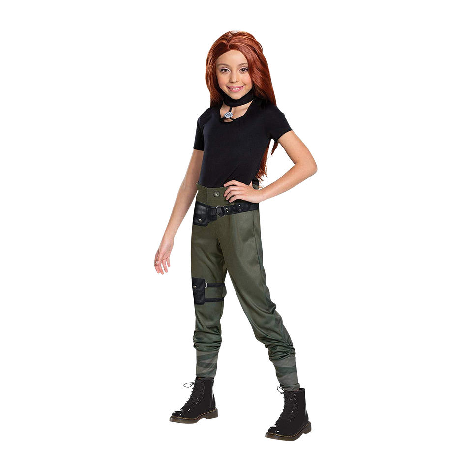 Disney Kim Possible Agent Classic Girls Licensed Costume - Small (4/6)