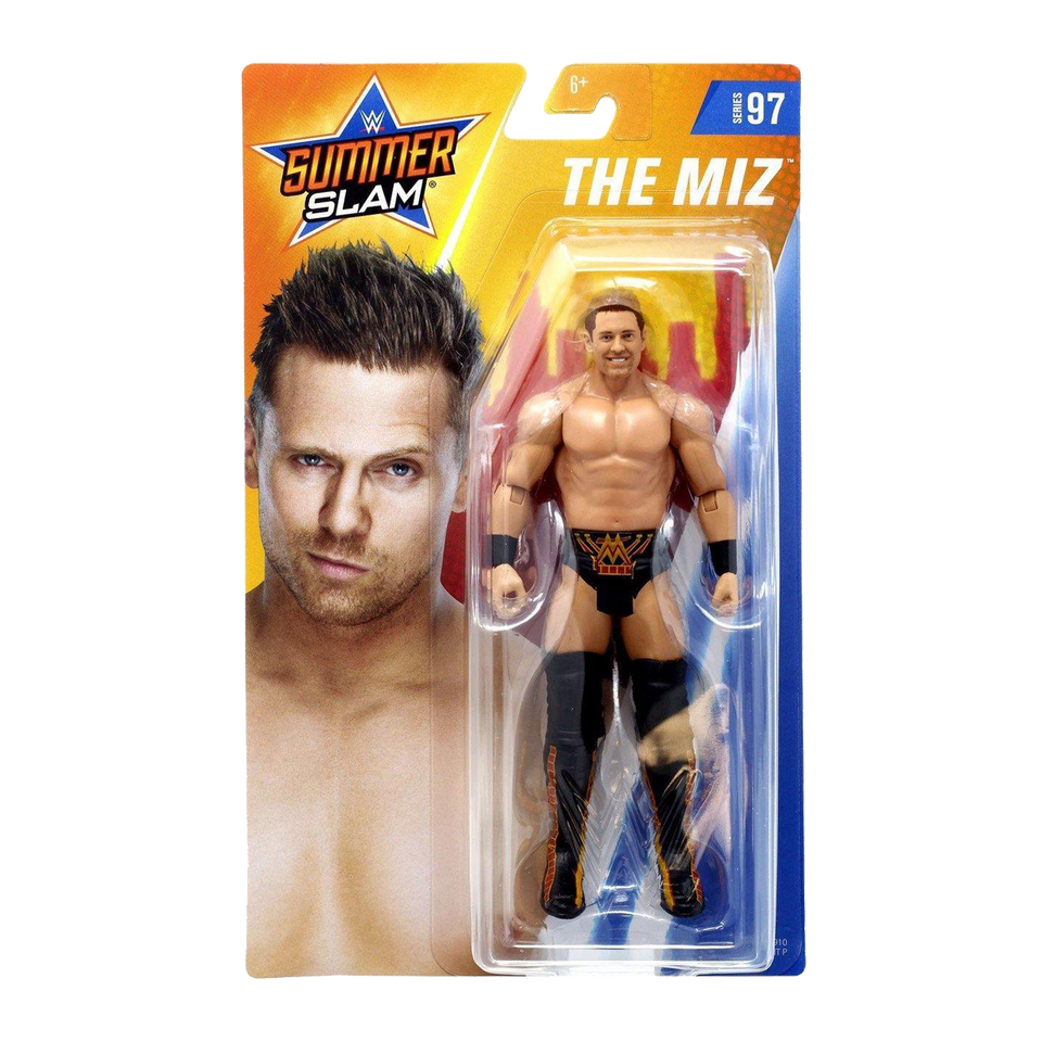 WWE Summer Slam The Miz Black Pants Wrestling Figure Mattel