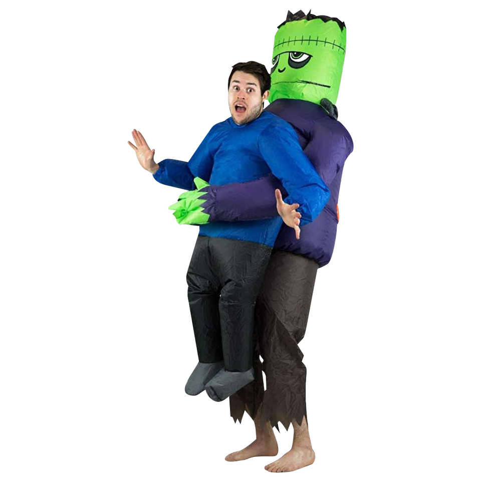 Inflatable Frankenstein Lifting Adult Costume size O/S Bodysocks